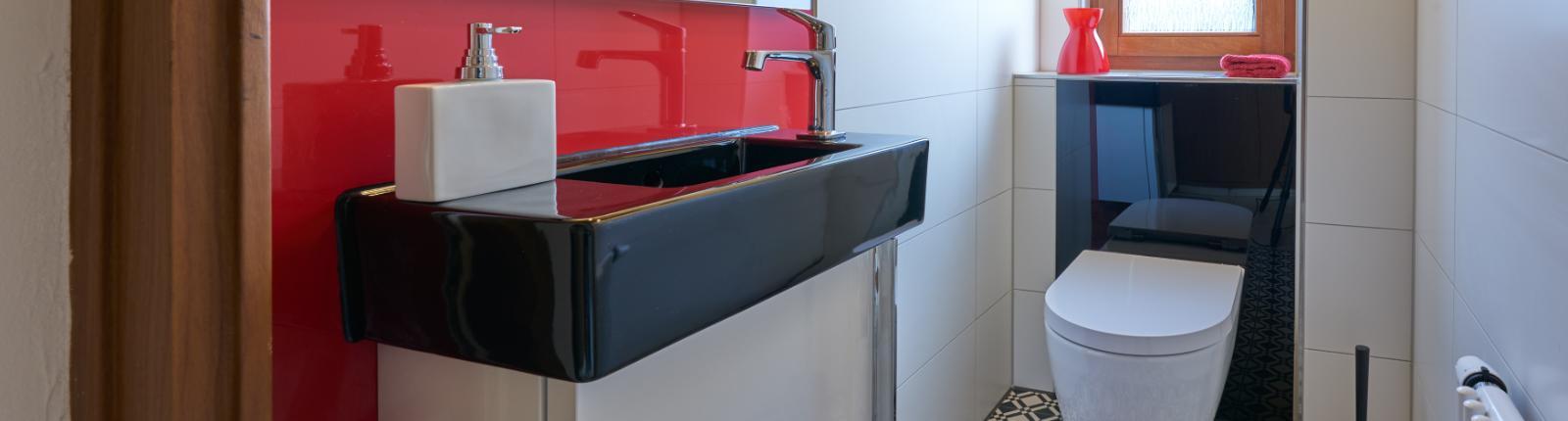 Gäste-WC Schwarz-Weiß   Mundle   Sindelfingen   Böblingen bei ...